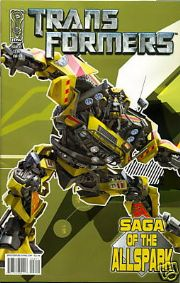 Transformers Saga of the Allspark #2 Cover B (2008) IDW Publishing comic book